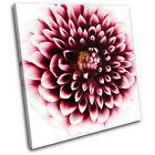 Abstract Flower Floral SINGLE CANVAS WALL ART Picture Print VA