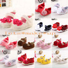New Flower Soft Bottom Sandals Infant Girls Toddler baby shoes size 0-18 months