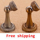 National Antique Bronze Magnetic Catch stopper holder Kick Down Door Stop ZET