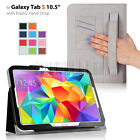 For Samsung Galaxy Tab S 10.5 inch Tablet T800 Folio PU Leather Stand Case Cover
