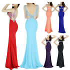 ❤Discount❤Long Mermaid Party Formal Evening Prom Bridesmaid Wedding Gown Dresses