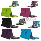 Bluetooth 3.0 QWERTY Keyboard PU Leather Case Cover for iPad 2 3 4
