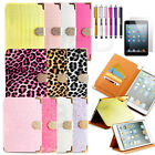 Slim Smart Magnetic PU Leather Cover Case for iPad Mini & 2 with Retina Display