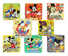 DISNEY MICKEY & FRIENDS Cotton MAGIC TOWEL Washcloth EXPANDS Square *YOU CHOOSE*