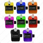 4 DIGIT HAND HELD TALLY COUNTER GOLF MANUAL NUMBER COUNTING PALM CLICKER