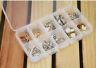 Compact Adjustable 10/15 Compartment Plastic Storage Box Jewelry Tool Container
