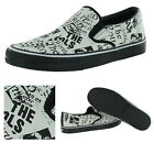 Draven Sex Pistols Filth N Furry Men's Canvas Slip On Shoes Sneakers