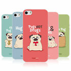 HEAD CASE PIPER THE PUG TPU REAR CASE COVER FOR APPLE iPHONE 5S