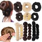 Hair Accessories Buns Donut Roll Snap Wrap Maker Hair Styling Tool Shaper S+M