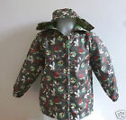 Light Weight Summer Coat with Hood - Green / Bug Design Ages 9-12 mos & 12-18mos