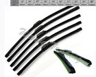 Car Flat Upgrade Frameless Bracketless Rubber Windshield Wiper Blade SY4