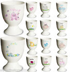 PERSONALISED Any NAME Ceramic Egg Cup - Girl Boys Baby Christening Keepsake