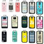 SAYINGS QUOTES COVER CASE FOR SAMSUNG GALAXY S2 S3 S4 S5 - MINI & MORE - A4