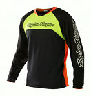 NEW 2014 TROY LEE DESIGNS TLD SPRINT GWIN MTB JERSEY BLACK/ FLO ORANGE ALL SIZES