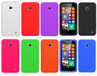 Cricket Nokia Lumia 630 Rubber SILICONE Soft Gel Skin Phone Cover + Screen Guard