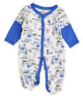 Calvin Klein Infant Boys Guitar Print Coverall Size 0/3M 3/6M 6/9M $28