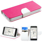 Amazon Fire Leather 2 Tone Wallet Case Pouch Flip Cover Accessory +Screen Guard