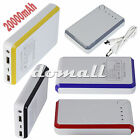 20000mAh Power Bank Battery Charger For  Iphone Samsung Galaxy Note S4 S5 Mobile