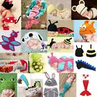 Newborn Baby Knit Beanie Animal Photography Photo Props Hat Set Costume Lot DZ88