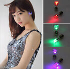 1/10Pcs Fashion New Led Blinking Studs Earrings Accessories for Party/Festival