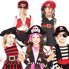 Toddler Pirates Age 3-6 Fancy Dress Kids Halloween Boys Girls Childrens Costumes
