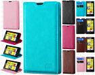 Nokia Lumia 520 Premium Wallet Case Pouch Flap STAND Cover + Screen Protector