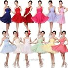 1Pc Women's/Girl Sexy Party Evening Wedding Bridesmaid Prom Ball Short Dress