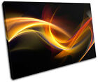 Design Abstract SINGLE CANVAS WALL ART Picture Print VA