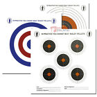 Bisley 17cm Plinking Practise Shooting Card Targets Air Gun Rifle Zeroing