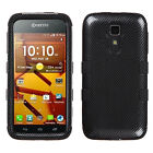 For Kyocera Hydro ICON C6730 IMPACT TUFF HYBRID Protector Case Skin Phone Cover
