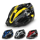 Adult Men Women Riding Road Mountain Bike Carbon Helmet Bicycle Cycling + Visor