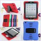 Kid Armor Dirt Shock Proof Kickstand Case for iPad Air 5 & 4 3 2 & Mini 1 2