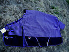 1200D Turnout Waterproof Rain Horse SHEET Light Winter Blanket Purple 326