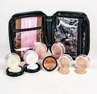 XXL KIT w/ Full Size CASE Mineral Makeup Set Bare Skin Powder Foundation Cover