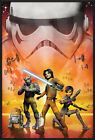 "STAR WARS REBELS - FRAMED TV POSTER / PRINT (THE REBELS) (SIZE: 24"" x 36"")"