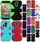 For Kyocera Hydro Life C6530 IMPACT TUFF HYBRID Hard Case Phone Cover Accessory