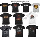 KISS Rock Band Classic Heavy Metal Army Face Tour Destroyer Logo T-shirt S - 5XL image
