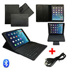 Bluetooth Wireless Detachable Keyboard Foldiing Leather Case for Apple iPad Air