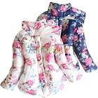 Baby Toddler Girls Winter Warm Wear Stand Collar Down Parka Jacket Coat Snowsuit