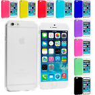 For Apple iPhone 6 (4.7) TPU Rubber Skin Case Cover Transparent Color Clear