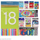 HAPPY BIRTHDAY INVITATIONS ~ Party Supplies Stationery Cards Special Age