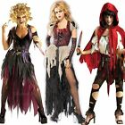 Ladies Unhappily Everafter Zombie Fairytale Halloween Fancy Dress Costume Outfit