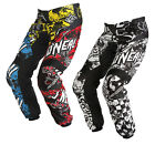 ONEAL ELEMENT KIDS YOUTH JUNIOR CHILDRENS 2015 WILD MOTOCROSS MX MOTO-X PANTS