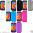 Samsung Galaxy Avant SM-G386T (T-Mobile) Faceplate Phone Cover TPU Gel Case