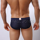 ~Clearance~Sexy Men's Low Rise Breath Holes Underwear Boxers Comfy Briefs 6Color
