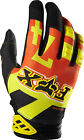 07044-009 Fox Dirtpaw Anthem Gloves Orange Motorcycle MX ATV BMX Off Road