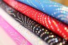 STARBURST HOLOGRAM SEQUIN LYCRA FABRIC - 4 WAY STRETCH - WIDTH 150 CM