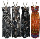 C68 LADIES SEXY BOHO URBAN ETHNIC NECKLACE MAXI DRESS