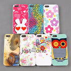 Chic Cute Colorful Pattern Back Skin Case Cover Protective for Apple iPhone 5