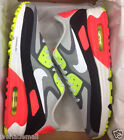 NIKE AIR MAX LUNAR 90 WR LT ASH GREY LSR CRIMSON INFRARED 654471-004